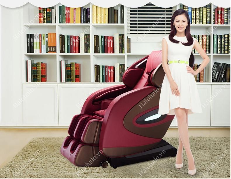 Ghế massage toàn thân 3D Shika SK-8611