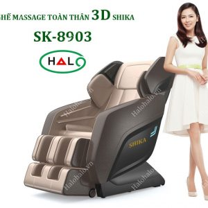 Ghế massage toàn thân 3D Shika SK-8903