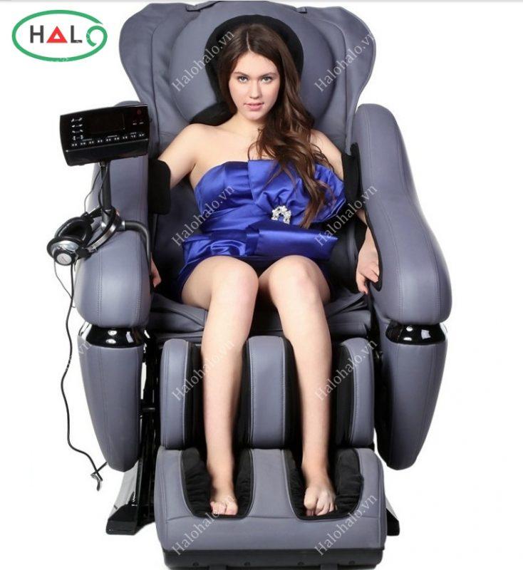 Ghế massage toàn thân 3D Shika SK-8906