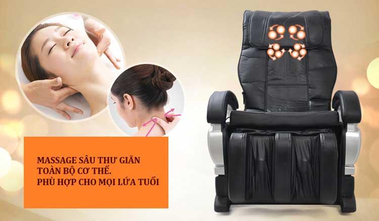 ghế massage toàn thân thiết bị chăm sóc sức khỏe thông minh