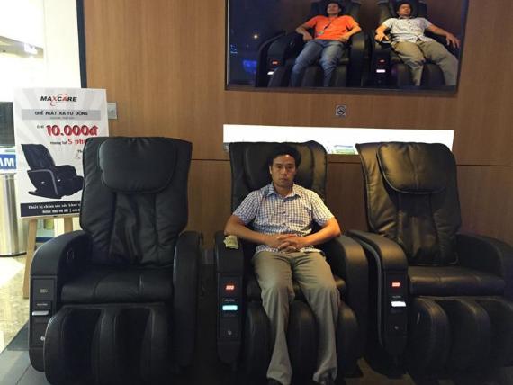 lợi nhuận kinh doanh từ Ghế massage tính tiền tự động