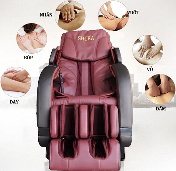 Ghế matxa là gì? Tìm hiểu về ghế massage