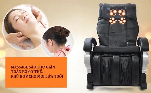 Cách dùng ghế massage tốt nhất