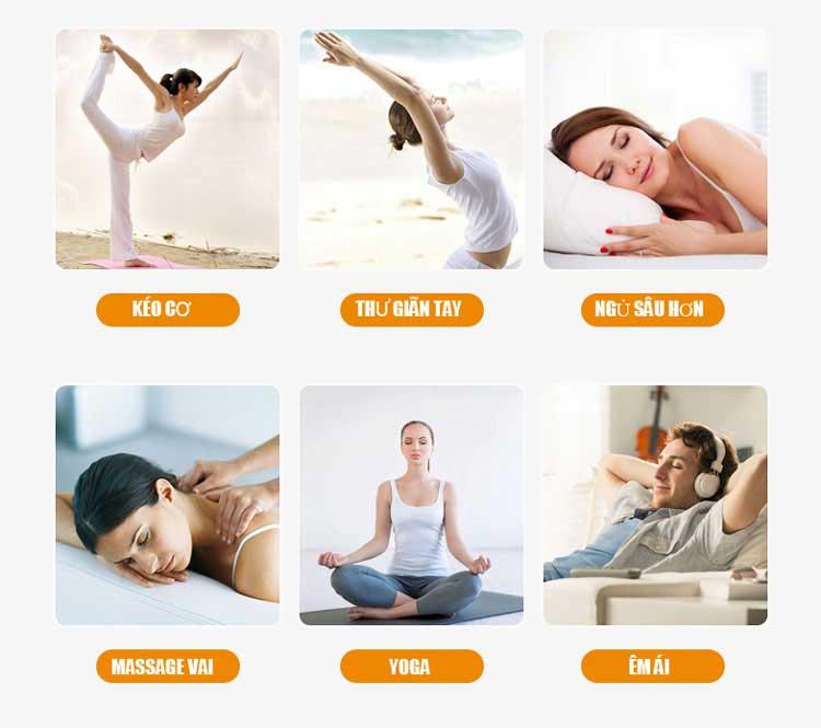 Tác dụng tuyệt vời của ghế massage toàn thân