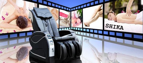 Ghế massage tính tiền tự động trung tâm thương mại lớn