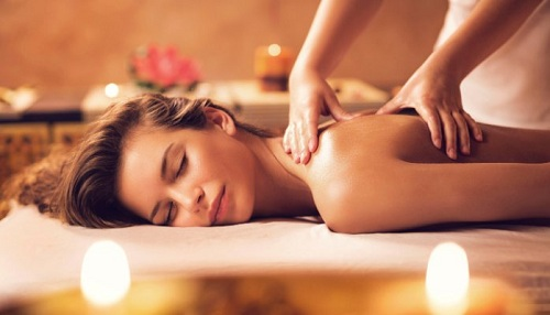 massage toàn thân cho phụ nữ thư giãn xả stress