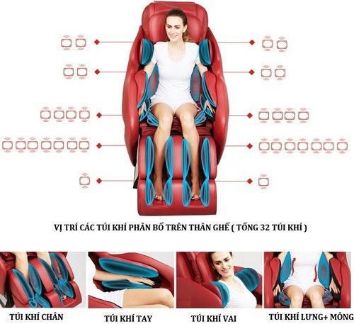 Ghế massage châm cứu